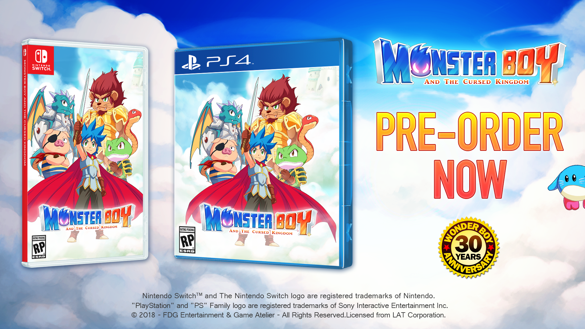 Monster Boy Development Blog
