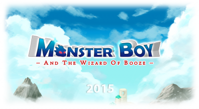 Monsterboy - And The Wizard Of Booze - 2015 - Artwork