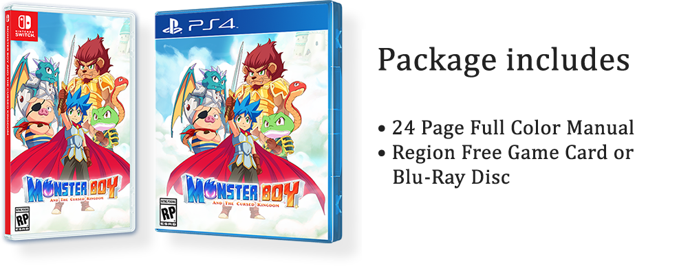 Get Monster Boy Physical Today!